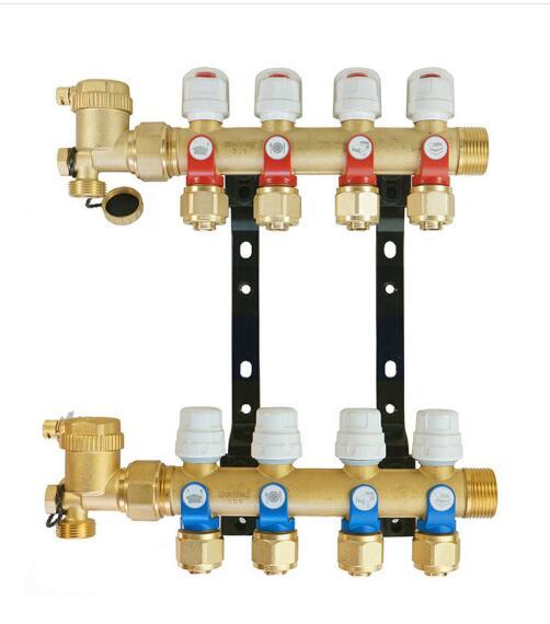 menred 曼瑞德地暖水力平衡集分水器-A7S新款系列地暖分集水器
