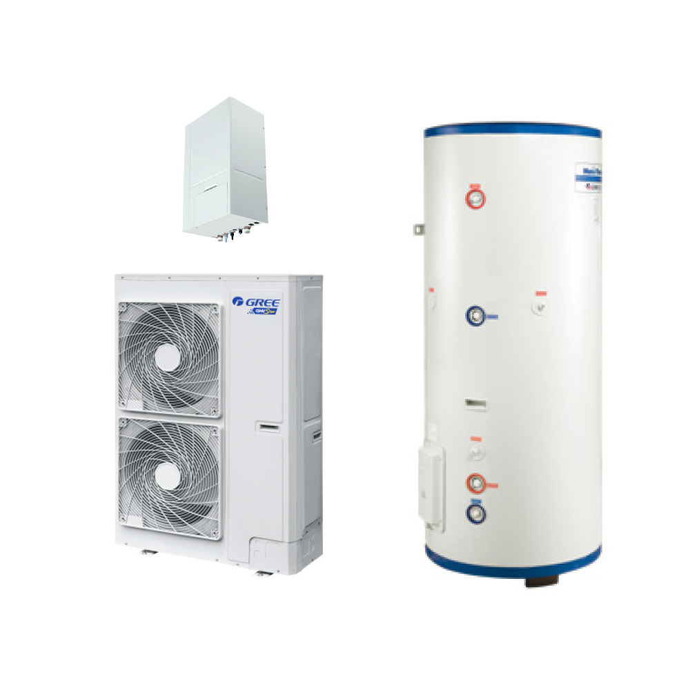 新万博体育网页版热水+地暖+空调GMV Unic多能一体机GMV-HS120~280WL/A